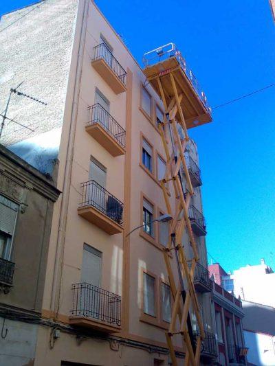 Pintores Ferrer - Rehabilitación edificio